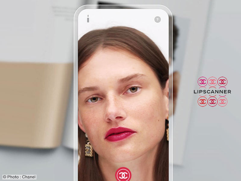Chanel LipScanner Application iPhone