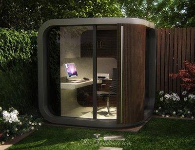 Officepod  Espace De Travail Lounge Pour Jardin  Maxitendance