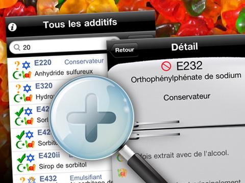 03ba89106a15a3fb4fc4dba16bfd5718 iAdditifs iPhone : ABC des Additifs Alimentaires (gratuit)