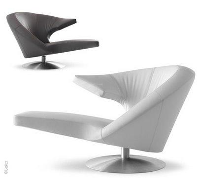 Fauteuil Pivotant Design Joa Detente - Fauteuil tournant design