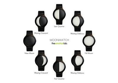 , MoonWatch by Emotion Lab : Montre Lunatique