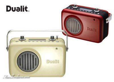 dualit dab kitchen radio : cuisinez en musique - maxitendance