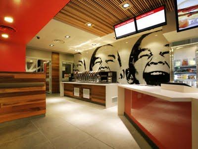 , Mc Donalds Restaurant : Nouveau Design