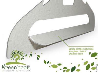 GreenHook : Cintres Ecologiques et Recyclables