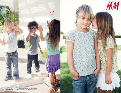 1cd3d694c10a2afe762734b62c61c3e6 H&M Enfants : Collection Printemps Eté 2009