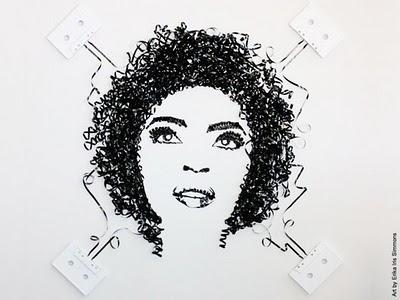 , Erika Iris Simmons : Cassette Audio et Art