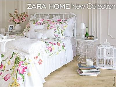 zara home couvre lit Zara Home Collection Maison Ete 2010   MaxiTendance zara home couvre lit