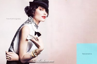 , Tiffany & Co Campagne Automne Hiver 2008 : Ecrin de Beautes Sasha, Lily, Liya and Shalom