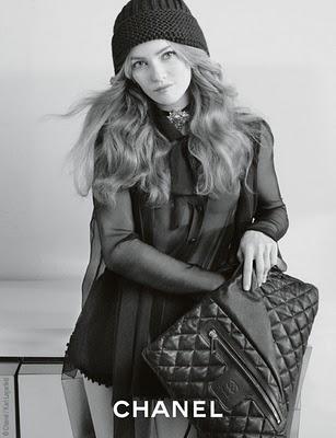 , Exclu : Chanel Coco Cocoon x Vanessa Paradis Campagne Pub