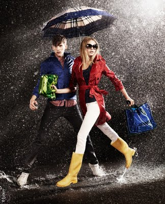 , Burberry April Showers 2011 Campagne