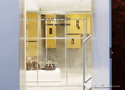 , Louis Vuitton at Comme des Garcons : Le Pop-Up Store