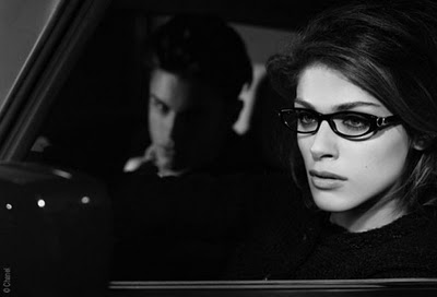 , Lunettes Chanel Bouton Campagne