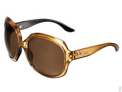 , Lunettes de Soleil Dior : Edition Gold Glossy