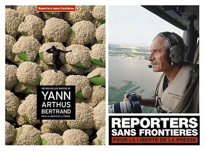 , Yann Arthus-Bertrand : 100 Photos pour RSF