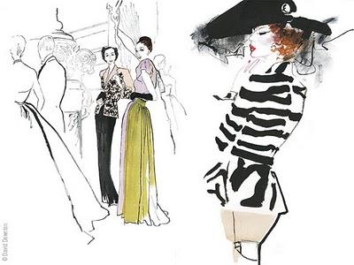 , David Downton Masters of Fashion Illustration