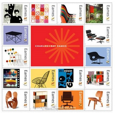 , Charles & Ray Eames : Les Timbres du Design