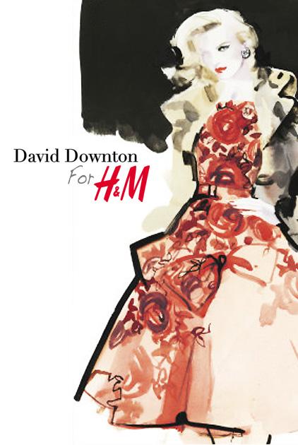 , David Downton pour HM : Tendances Rentree 2011