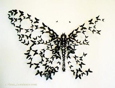 , Paul Villinski : Canettes Déco Effet Papillon