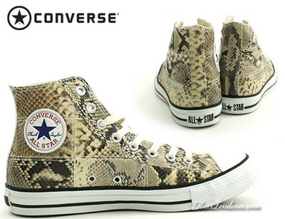 Converse All Star Fashion Materials en Python MaxiTendance