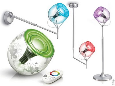 images philips - Lampe Living Colors Philips