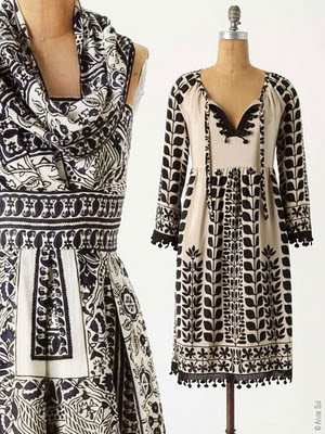 , Anna Sui 30 ans 3 Reeditions pour Anthropologie