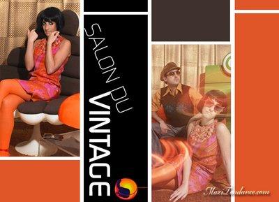 , Salon du Vintage 2008 Paris : Les Annees Orange