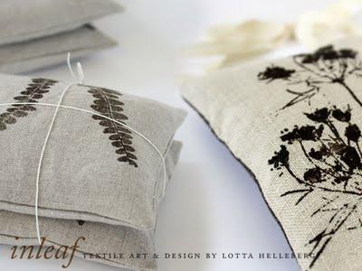 3e6f6afc04b20c3ac363245aad58500d Inleaf par Lotta Helleberg : Creations Textile Bio