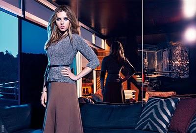 , Mango Hiver 2010 2011 Campagne avec Scarlett Johansson