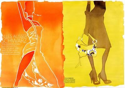 , Eduard Erlikh : Illustrateur de mode