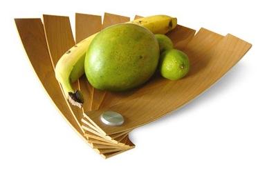 , Corbeille à Fruits Design : Tout en Éventail