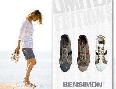 49d03831d0592a766877748f670d6b91 Bensimon : Tennis Editions Limitées Ete 2009