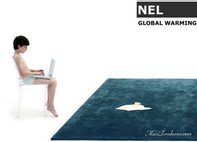, Nel pour Nanimarquina : Tapis et Ours Blanc