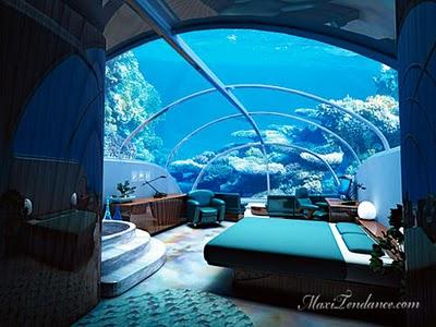 , 7 Story Underwater Hotel : 7 Etoiles Sous La Mer (video)