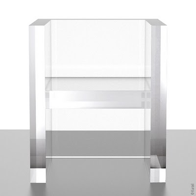 Kartell The Invisibles Fauteuil Transparent