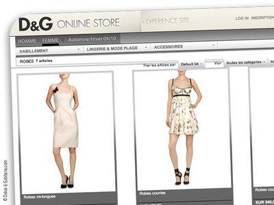 508fc2a9a26961c975314a5d4b957570 DolceGabbana.com : La Boutique en Ligne