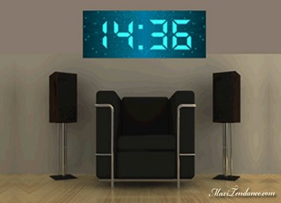Beautiful Horloge Murale Digital Design Gallery - House Design ...