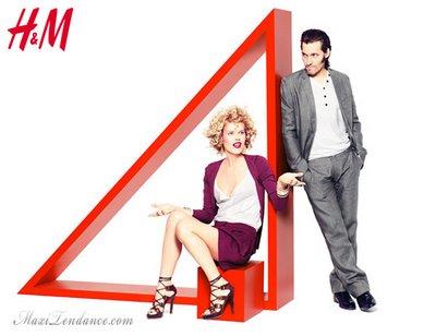 , H&M Eté 2009 Eva Herzigova & Shalom Harlow