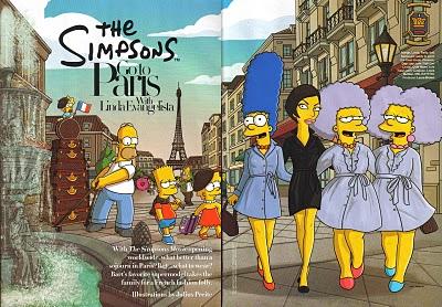, Les Simpsons à Paris !