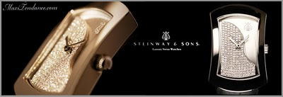 , Steinway & Sons Luxury Swiss Watches : L'Air du Temps
