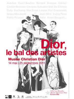 5df107da167071f6ce1c292bf0179781 - Expo : Dior Le Bal des Artistes