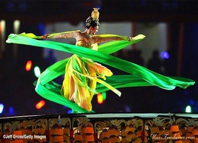 , JO de Pekin 2008 : Ceremonie d'Ouverture Spectaculaire