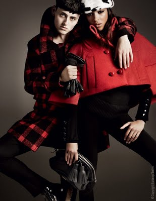 , Burberry Hiver 2011 2012 Campagne