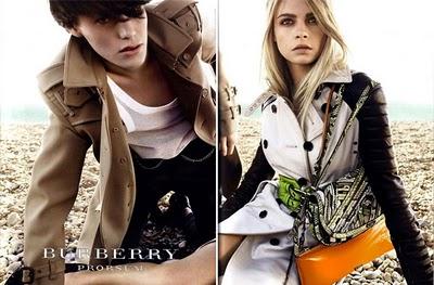 , Burberry Prorsum Ete 2011 Apercu