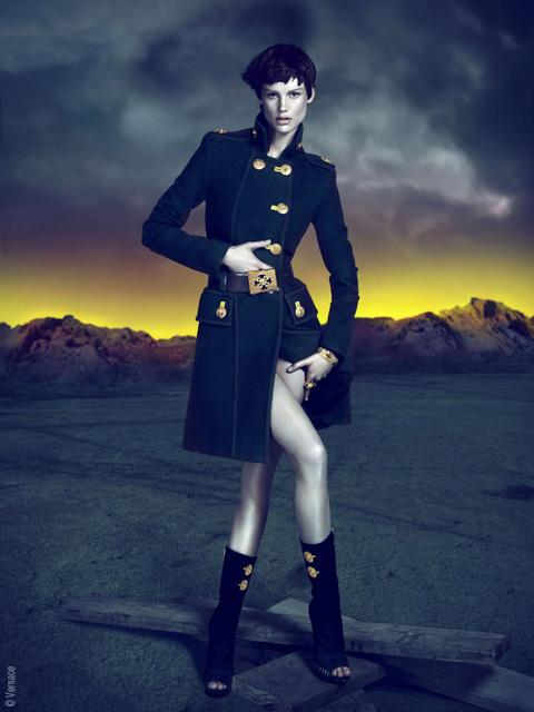 , Versace Automne Hiver 2011 2012