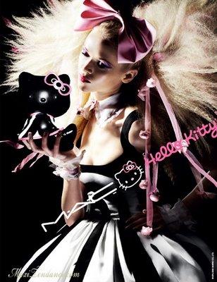 , Hello Kitty x MAC Cosmetics : Pub Printemps Eté 2009