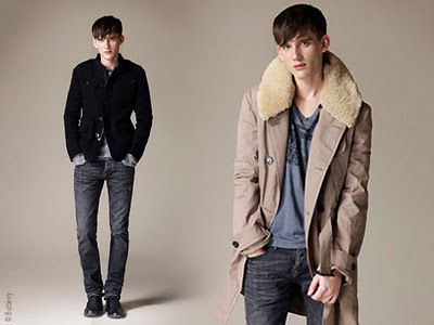 , Burberry Brit Homme Hiver 2010 2011