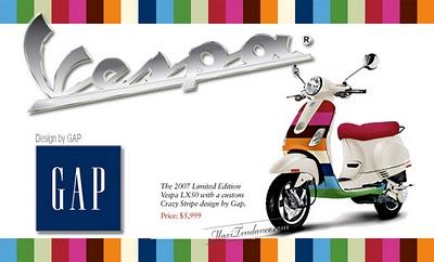7b1d356dbcd9b8c5d3dd2623f0703b45 - GAP & Vespa : Fashion Attitude