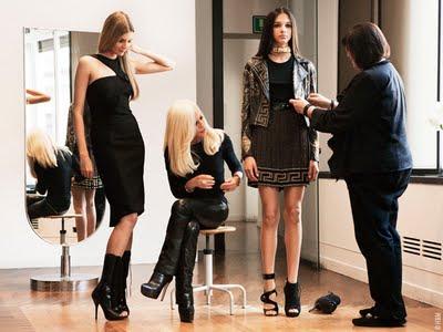 , H&M x Versace : Nouvelle Collaboration 2011 (images)