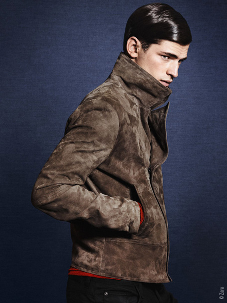7be4bd2a30156f21dc64b6ed24f02c16 Zara Homme Hiver 2011 2012 Campagne