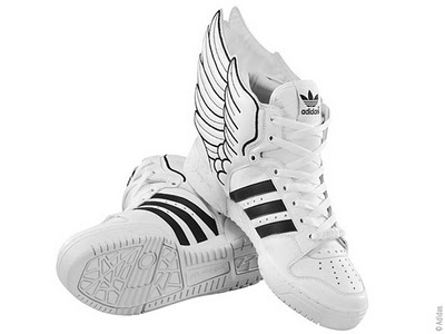 86f07bcd88493a7f12b53f0f2f915612 Adidas Jeremy Scott Wings 2.0 : Baskets Ailées